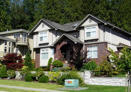枫叶之国散记(三)---走近加拿大的别墅图片