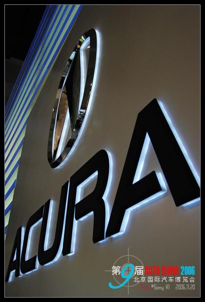 阿库拉是本田汽车公司的高档车,其徽记是英文字母A的变形,-49P 高清图片