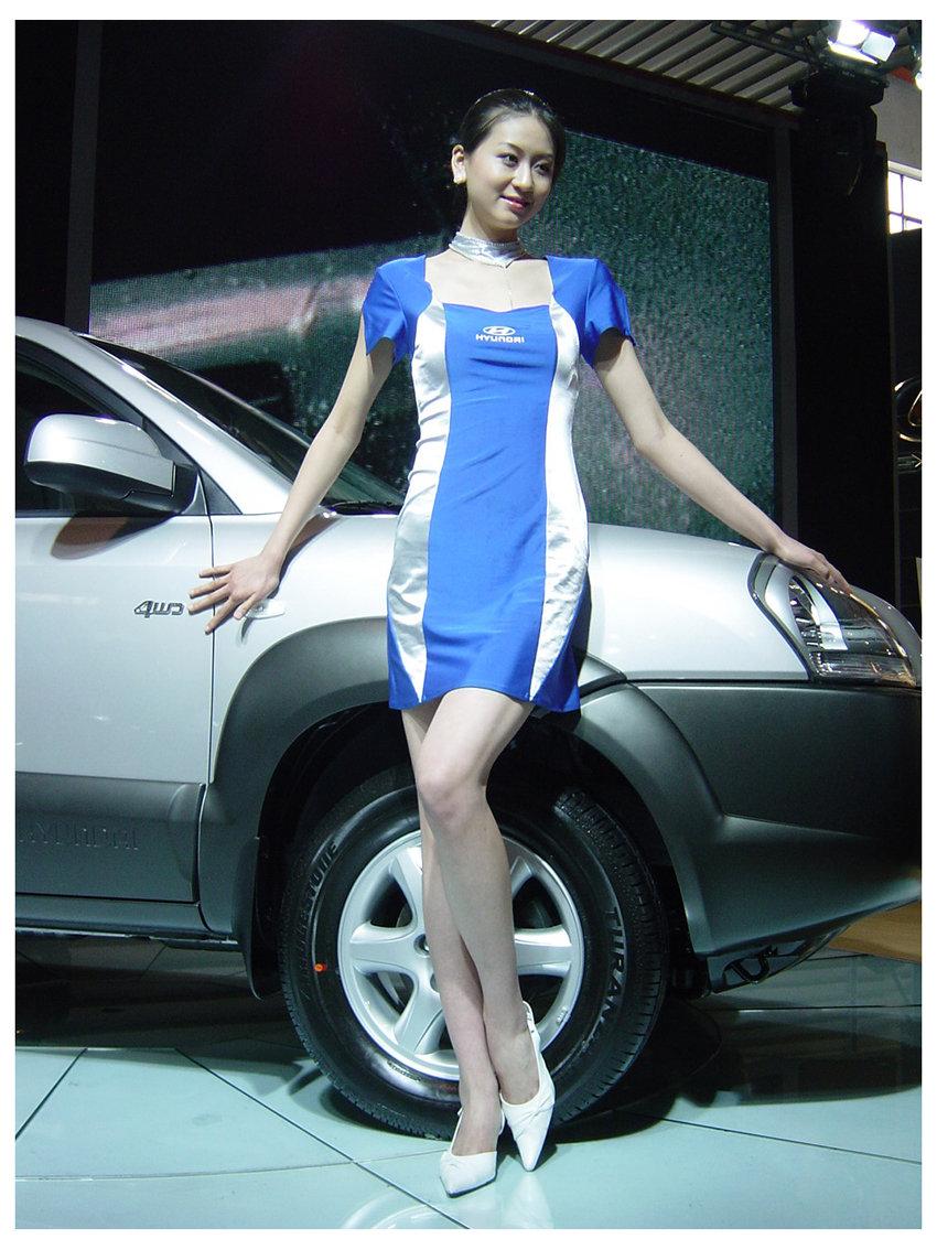 汽车模特(一)