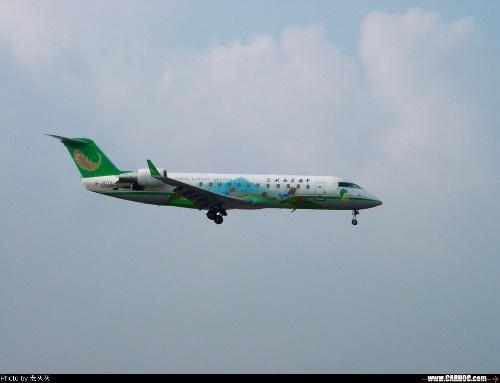 架grj-200客机,在包头发生