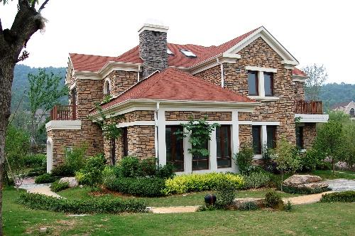 独栋别墅别墅设计图展示广西碧的庭院价格桂园图片