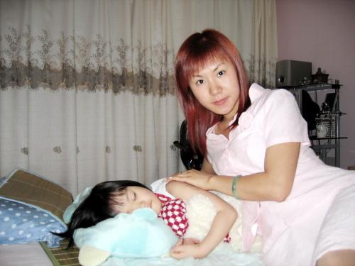 宝宝和姨妈家的小美女们
