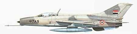 歼-7原型机在沈阳飞机厂由