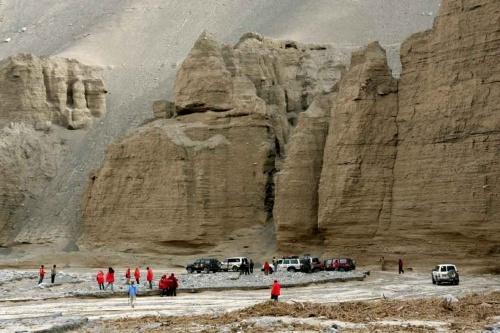罗布泊之旅:库木塔格大峡谷