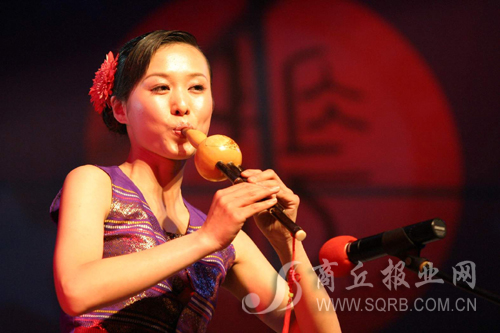 美丽的西双版纳——孔雀舞与葫芦丝