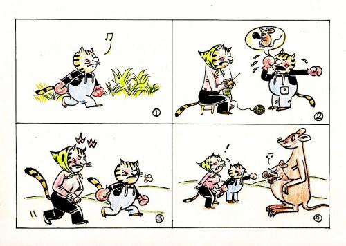 3d母子乱论漫画_系列漫画《母子猫咪》