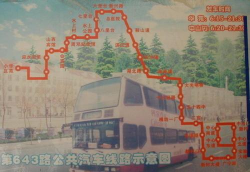 天津公交线路图(600——698路)