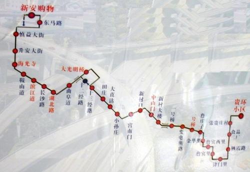 天津公交线路图(800——879路)