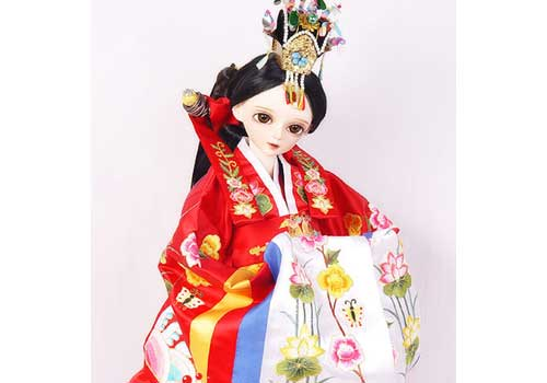 还有一些可爱的韩服娃娃哦