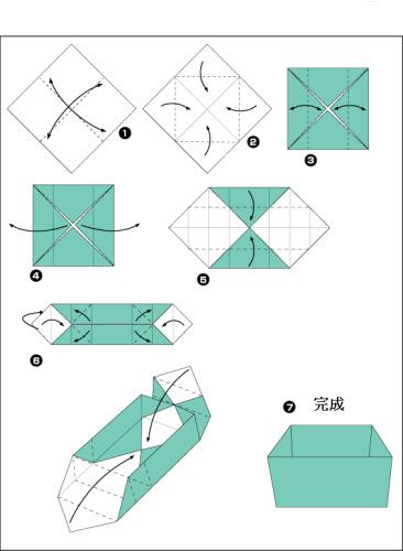 立体折纸大全步骤图解礼物盒