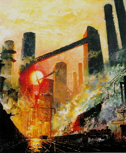 依然传承,延续了写实为基础的前苏联绘画风格.