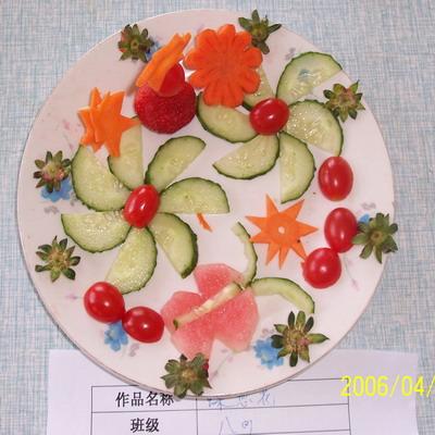 看到了吗?这些漂亮的水果拼盘~快快来参考一下吧!