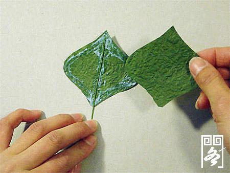 纸艺花卉/兜兰花/制作过程