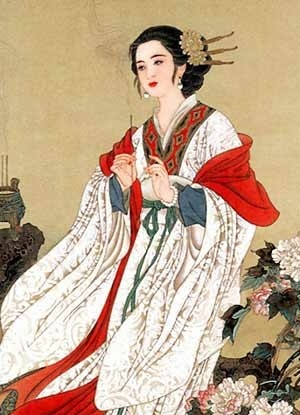 中国古代四大美女之闭月