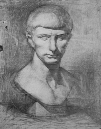 中央美院附中素描石膏经典作品