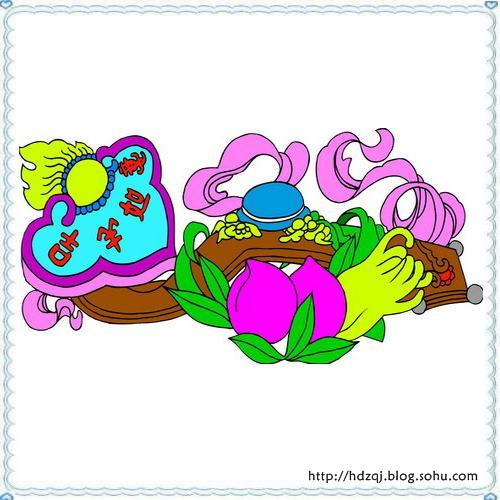 中国传统吉祥图案是中华民族传统文化的重要组成