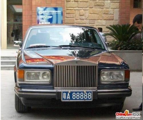 浙a99999是正泰老板南存辉的坐驾宝马l7  浙e-99999花了五十万搞的图片
