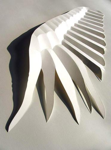 纸造型 立体构成艺术的效果