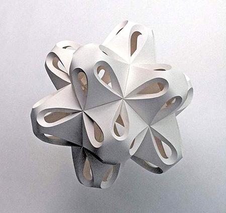 纸造型/立体构成艺术的效果