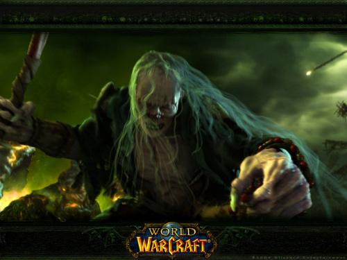 《魔兽世界》官方超艺术壁纸!