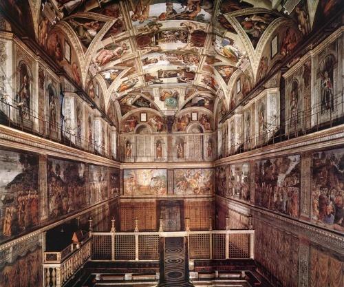 世界名画和绘画大师之文艺复兴三大巨匠——米开朗基罗