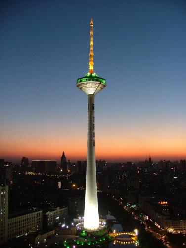 彩电塔是沈阳的象征~~市政府的象征