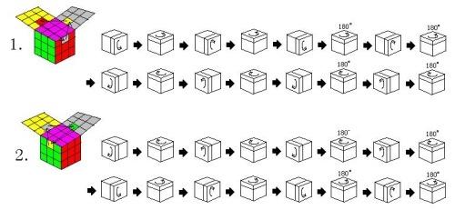 三阶魔方步骤图解