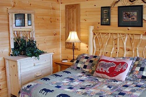 木屋室内装饰--卧室篇(五)
