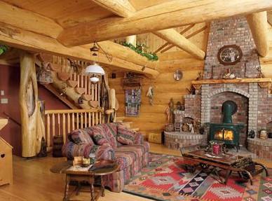 木屋室内装饰--客厅篇(五)-竹亭主人-搜狐空间