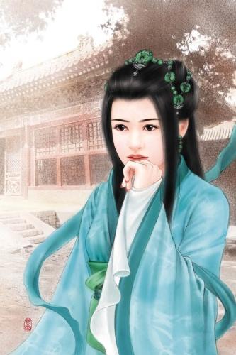 中国历代古典美女手绘珍藏版(1)