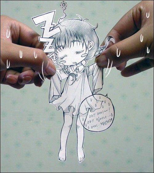 可爱小纸人--韩国系列-小昂 酱の一亩hana-搜狐博客