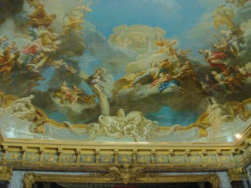 欧式油画巴黎歌剧院