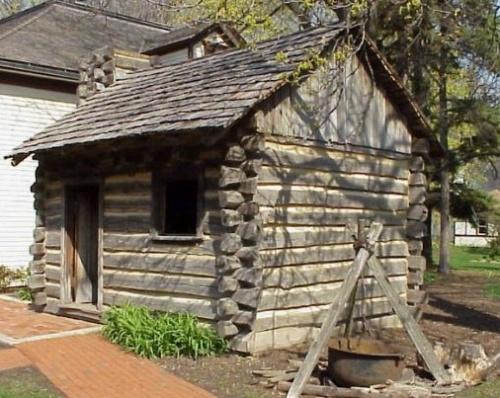 一组可爱的小木屋(一)log