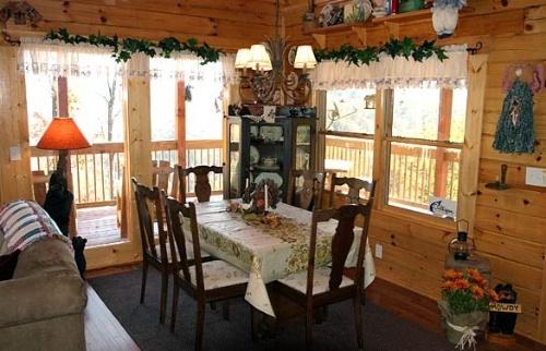 木屋室内装饰--餐厅篇(一)-竹亭主人-搜狐空间