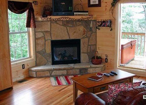 木屋室内装饰--客厅篇(一)