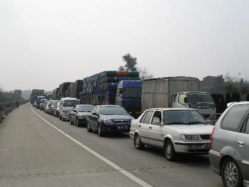 今天京珠高速堵车吗