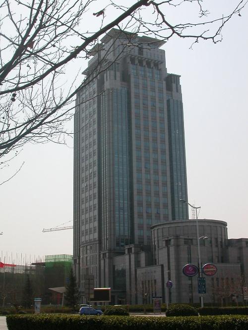 天津新技术产业园区,海泰大厦.