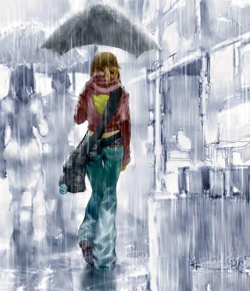�r,_那个早晨,淅淅沥沥的一场雨下个不停.